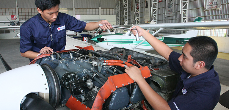 STEM Aircraft Maintenance Technology