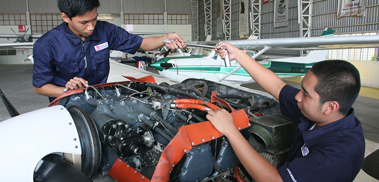 BS Aircraft Maintenance Technology