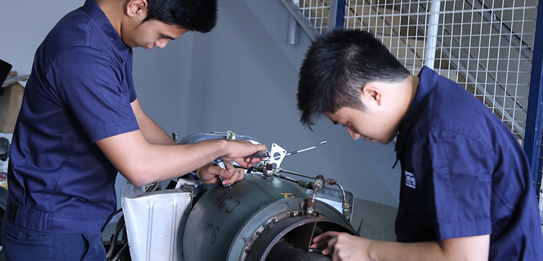 Diploma in Aircraft Maintenance Technology