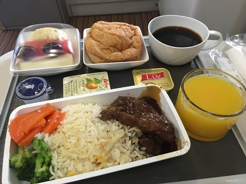 The amazing world of in-flight meals