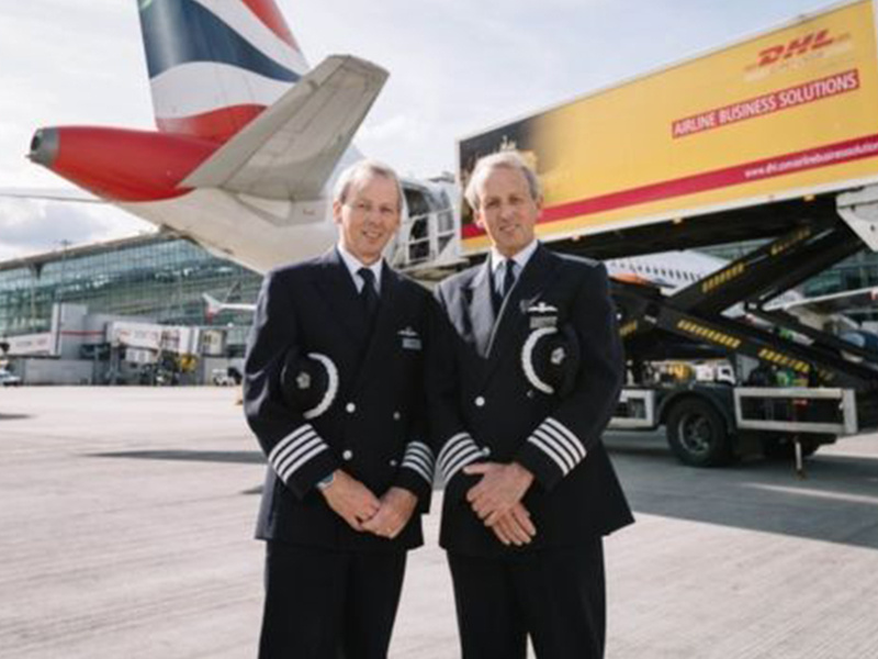 Last Landings: Twin pilots retire together at Heathrow airport